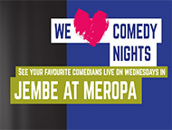 We Love Comedy nights at Meropa